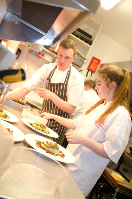 Roost charity dinner