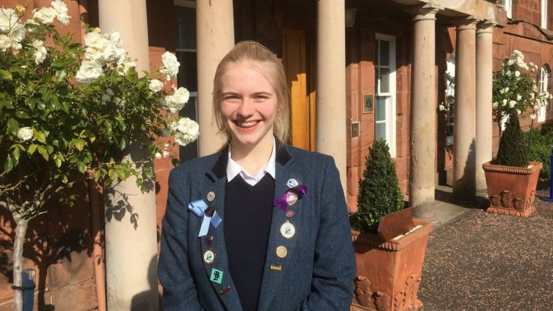 global poetry competition - Kilgraston pupil one of the winners