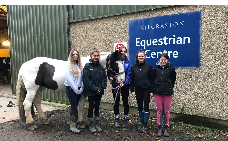 British Horse Society qualification success