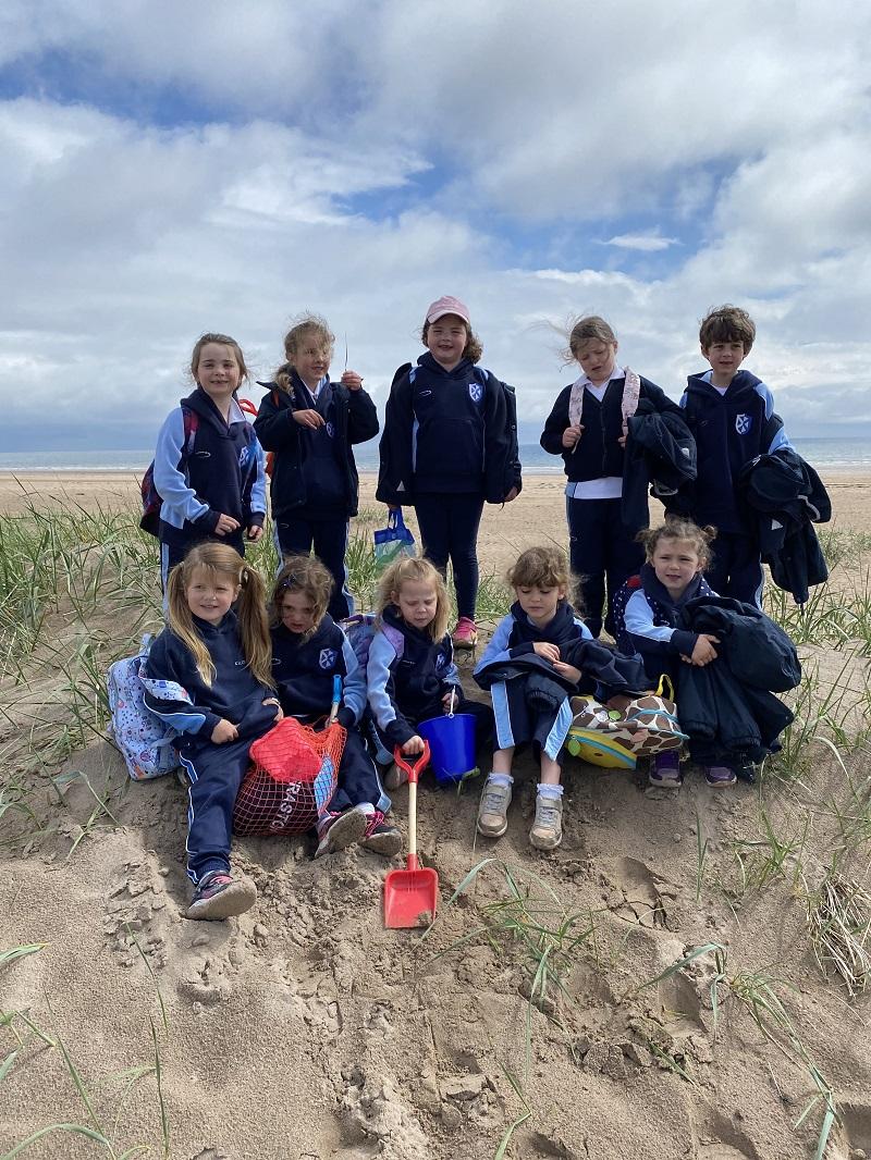 Kilgraston Junior School trip to Tentsmuir
